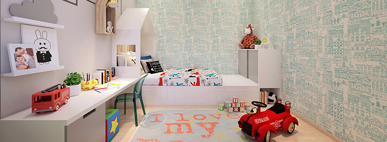 Kid room view 1