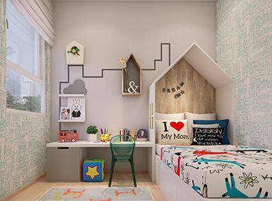 Kid room view 2